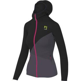 Karpos Nuvolau Fleece Jacket Women, grijs/zwart